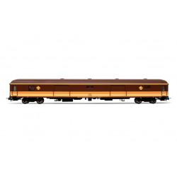 Furgón de equipaje D11-11400, RENFE. Estrella.