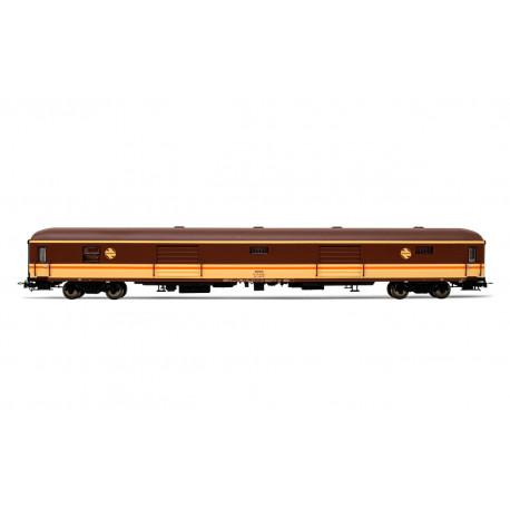 Luggage van D11-11400, RENFE. Estrella livery.