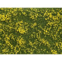 Mata de hierbas, amarillo.