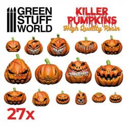 Killer pumpkins Resin Set.