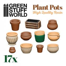 Plant pot Resin Set.