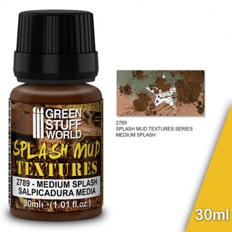 "Splash mud textures ""brown"" 30ml."