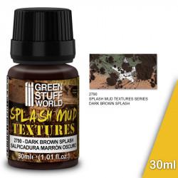 """Splash mud textures """"dark brown"""" 30ml."""