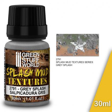 "Splash mud textures ""grey"" 30ml."