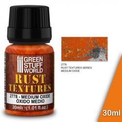 "Rust textures ""medium oxide"" 30ml."