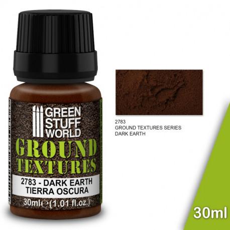 """Ground textures """"dark earth"""" 30ml."""