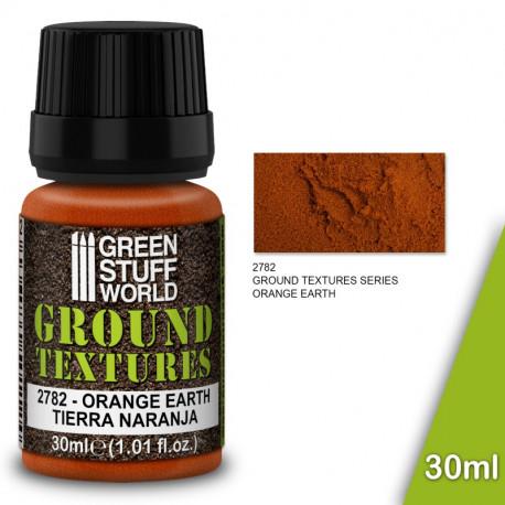 "Ground textures ""orange earth"" 30ml."