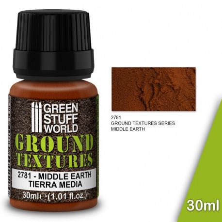 "Ground textures ""medium earth"" 30ml."