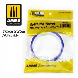 Softouch Velvet, Masking tape. 10 mm.