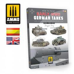 Cómo pintar tanques alemanes iniciales de la WWII.