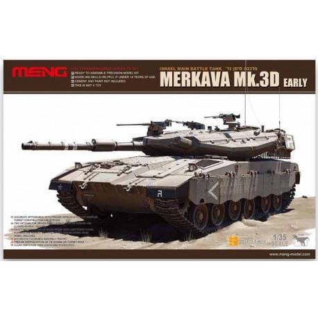 Merkava Mk.3D Main Battle Tank (MBT).