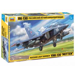 "Bombardero soviético YAK-130 ""Mitten""."