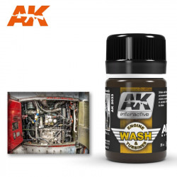 Aircraft engine wash. 35 ml.