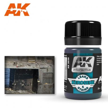 Kerosene leaks and stains. 35 ml.