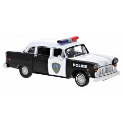 Checker cab, coche patrulla Saugus.