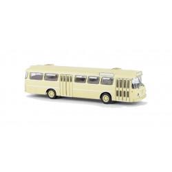 Autobús Senator 12 D, beige.
