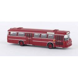 Autobús Senator 12 D, DB, granate.