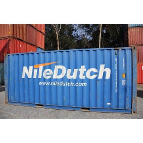 Container 20'DV ''Nile Dutch''.