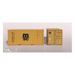 Container 20'DV ''MSC''.