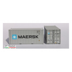 Container 20'DV ''Maersk''.