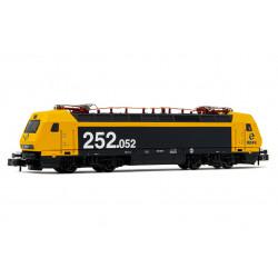 Electric locomotive RENFE 252, Taxi.