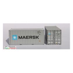 Contenedor 20' DV ''Maersk''.