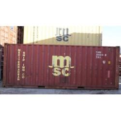 Contenedor 20' DV ''MSC''.