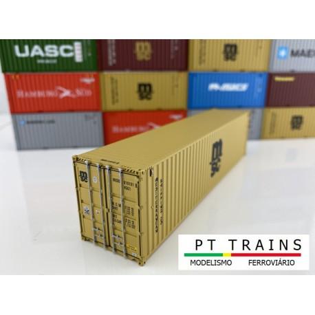 Container 40HC ''MSC''.