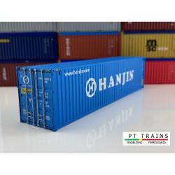 Contenedor 40' HC ''HANJIN''.