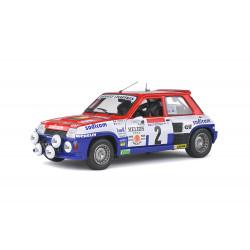 Renault 5 Turbo. Rally of Antibes.
