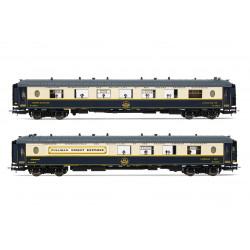 """2-unit pack """"Côte d'Azur"""" and """"Train Bleu""""."""