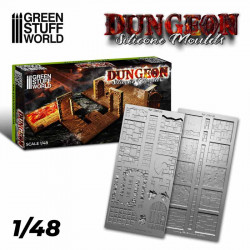 Silicone molds - Dungeon. 1:48 (wargames).