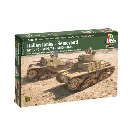 Italian tanks, semoventi.