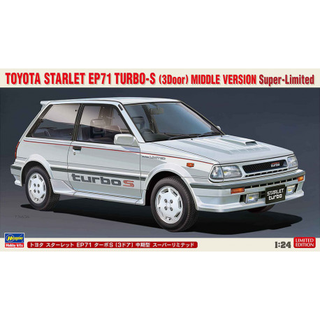 Toyota Starlet EP71 Turbo-S.