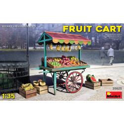 Market car with fruit.