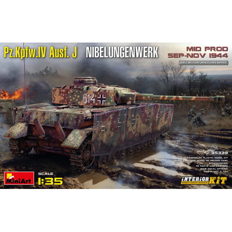 Pz.Kpfw.IV Ausf. J Nibelungenwerk. Interior kit.
