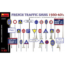 French traffic signs.