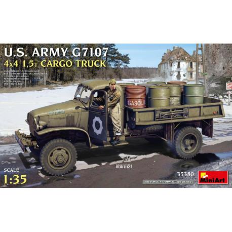 US army G7107 4x4 cargo truck.