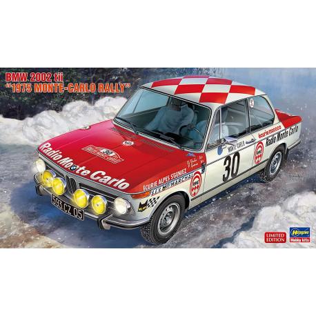 "BMW 2002 tii, ""Monte-Carlo Rally"" (1975)."