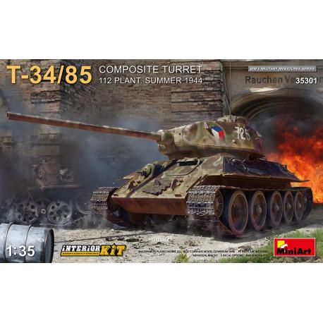 T-34/85 Composite turret. Interior kit.