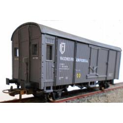 Vagón frigorífico de Vagones Frigoríficos SA, RENFE.