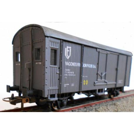 Refrigerated wagon from Vagones Frigoríficos SA, RENFE.