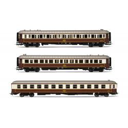 "Set de 3 coches ""Al-Andalus"", RENFE."