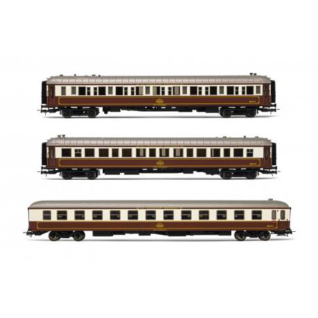 """3-unit set """"Al-Andalus"""" train, RENFE."""