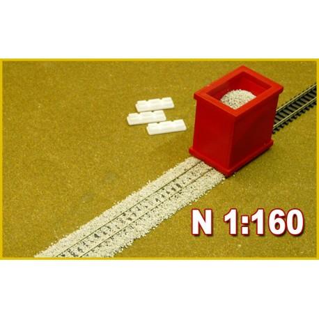 Dosificador de balasto. PROSES BS-N-01