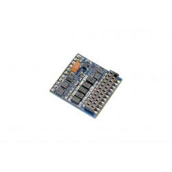 Decoder de funciones LokPilot Fx V5.0, 21 pins.