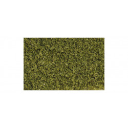 Mata de flocado, verde oliva.