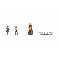 Hansel y Gretel.