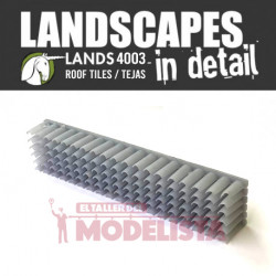 Mold for roof tiles.
