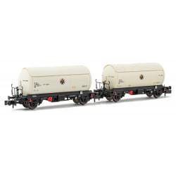 Set of tank wagons PR Butano S.A., RENFE.